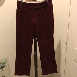 Laundry by Shelli Segal corduroy pants size 32